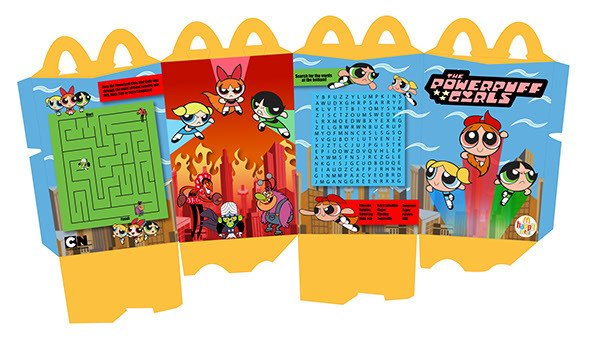 Happy Meal Box Template Mc Donald S Happy Meal Project On Behance