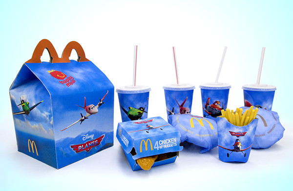 Happy Meal Box Template Mcdonald S Happy Meal Planes On Behance