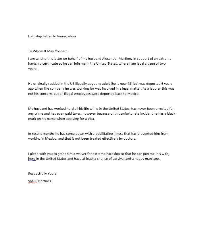 Hardship Letter to Creditors Template 35 Simple Hardship Letters Financial for Mortgage for