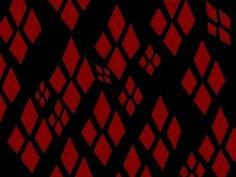 Harley Quinn Diamond Stencil Harley Quinn Diamond Pattern