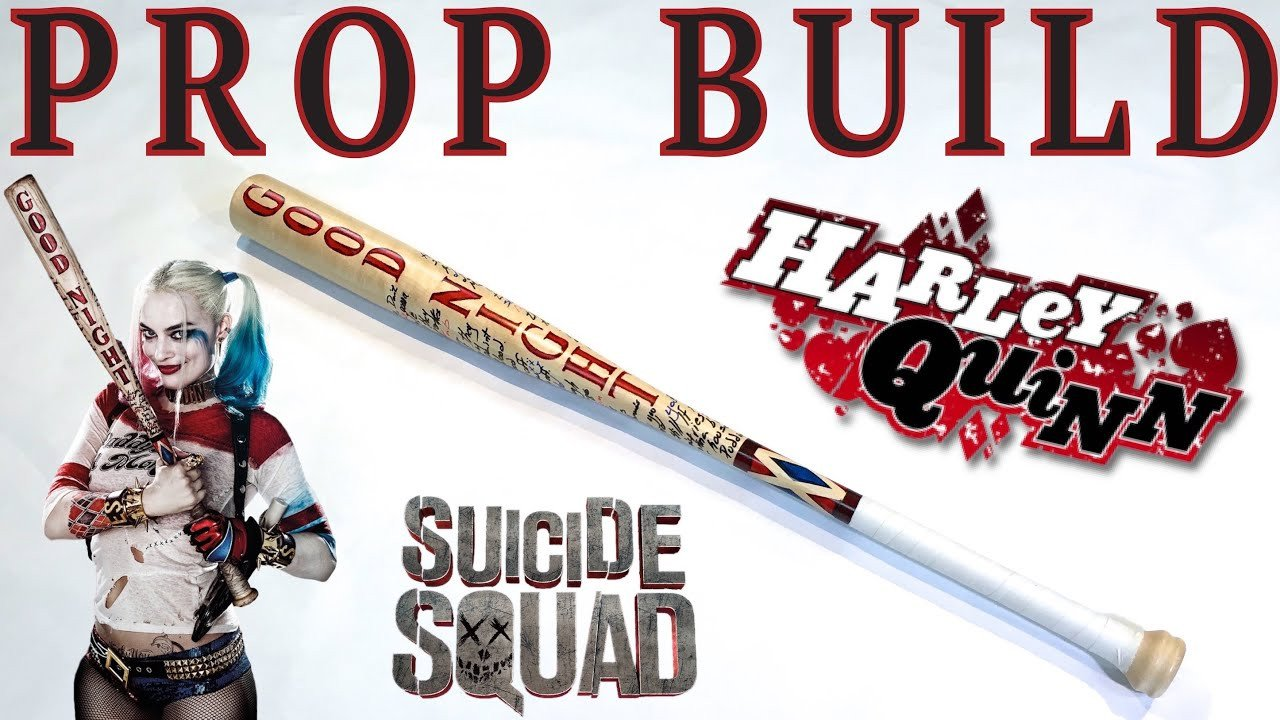 Harley Quinn Goodnight Stencil How to Make the Harley Quinn Bat From Suicide Squad