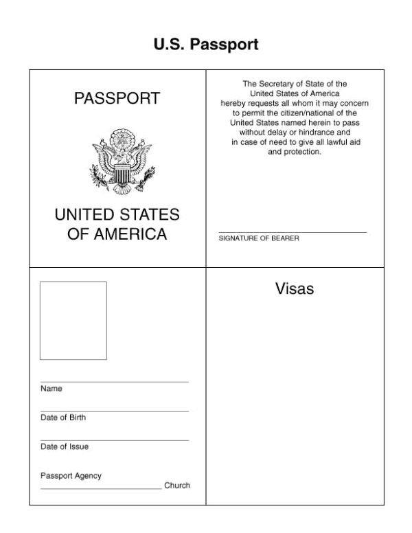 Health Fair Passport Template Passport for Kids Google Search … Kids