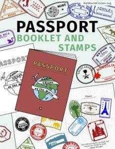 Health Fair Passport Template Passport Template Passport for Kids Passport
