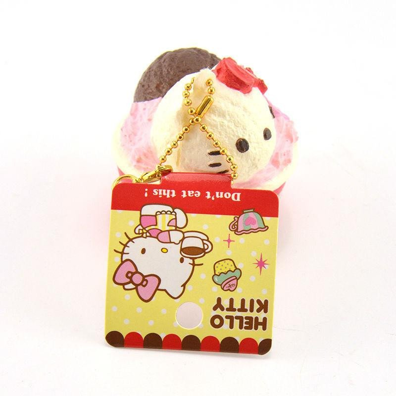 Hello Kitty Squishy Tag Hello Kitty Ice Cream Cup Squishies Imperfect