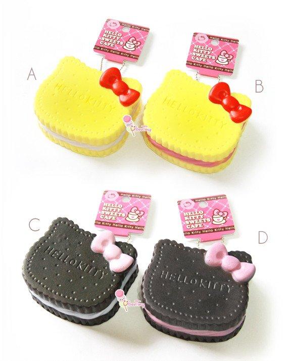 Hello Kitty Squishy Tag Jumbo Hello Kitty Cream Cookie Squishy with Tag · Uber
