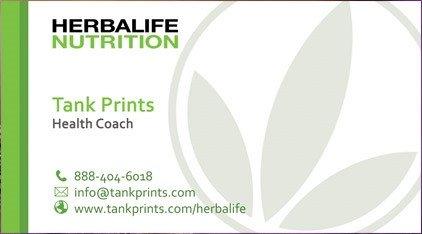 Herbalife Business Card Template Herbalife Business Card Design 6 Tank Prints