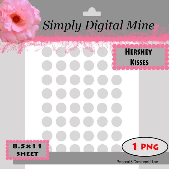 Hershey Kiss Labels Template You Design Hershey Kisses Labels Template Size Approx