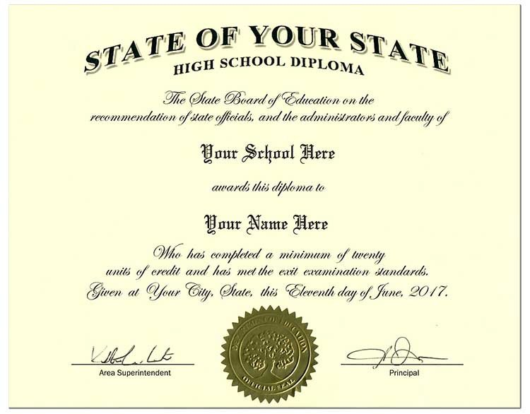 High School Diploma Template Pdf Fake High School Diplomas and Transcripts