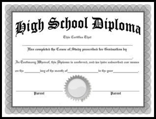 High School Diploma Template Pdf Free Homeschool Diplomas Template