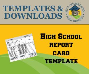 High School Report Card Template Free Highschool Report Card Templates