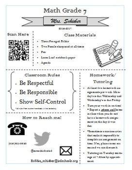 High School Syllabus Template Best 25 Middle School Syllabus Ideas On Pinterest