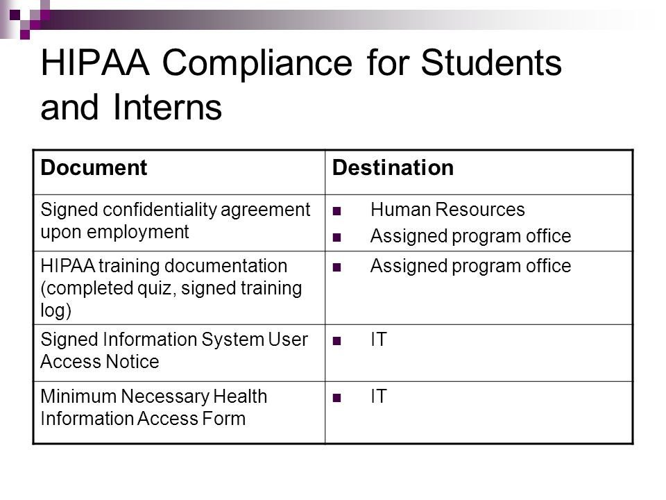 Hipaa Compliance forms for Employers Shelby County Health Department Ppt Video Online