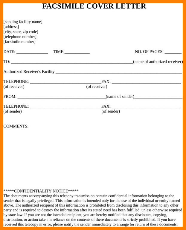 Hipaa Fax Cover Sheet 5 Hipaa Fax Cover Sheet Confidentiality Statement