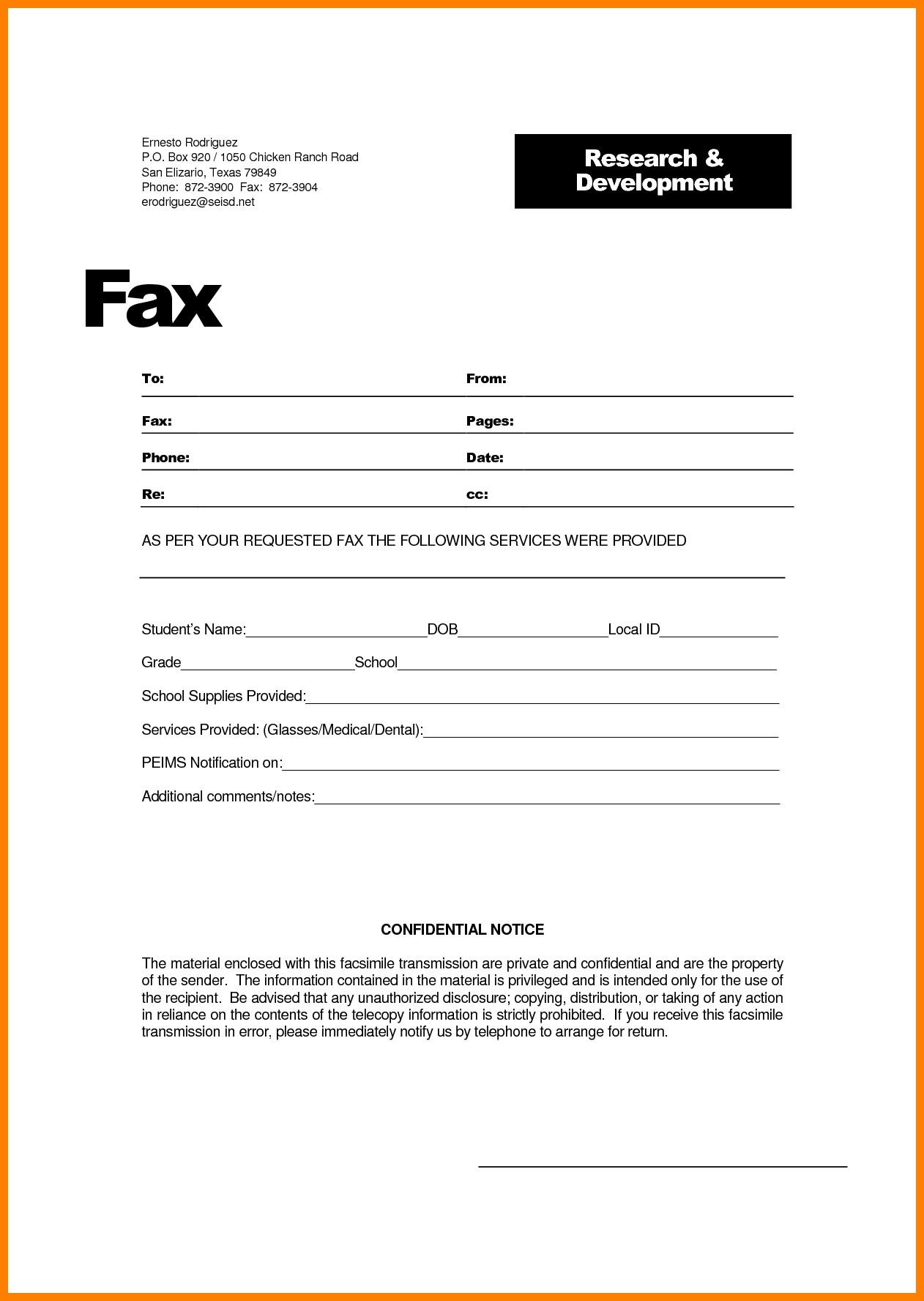 Hipaa Fax Cover Sheet 9 Hipaa Fax Confidentiality Statement