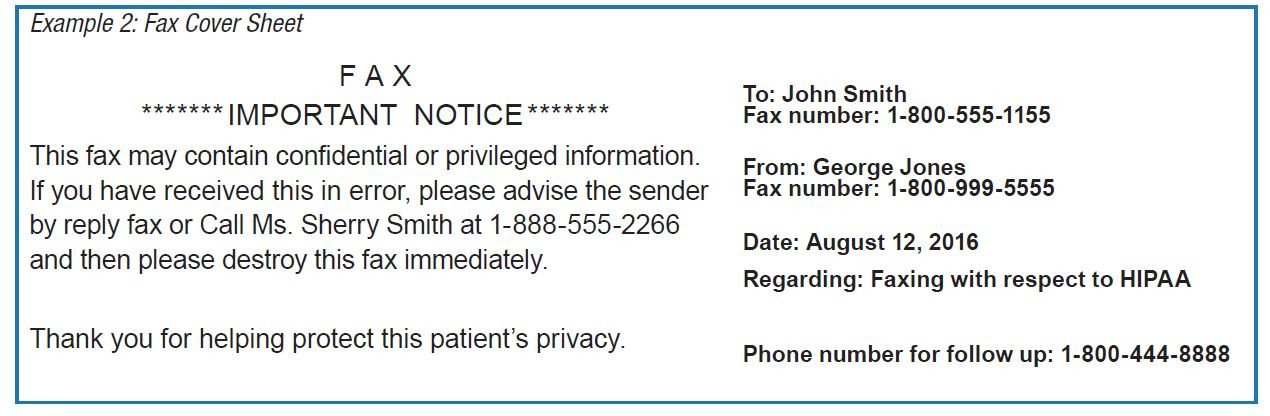 Hipaa Fax Cover Sheet are You Faxing Your Way to A Hipaa Violation