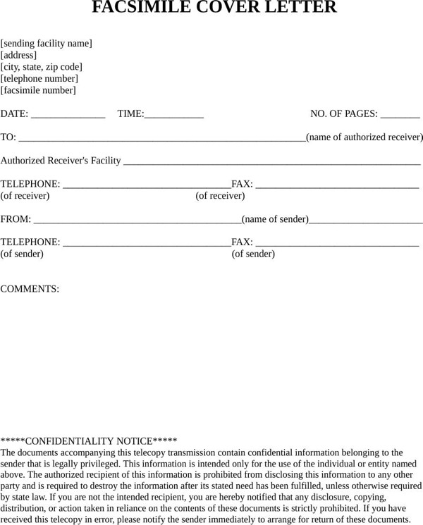 Hipaa Fax Cover Sheet Download Medical Hipaa Fax Cover Sheet for Free formtemplate