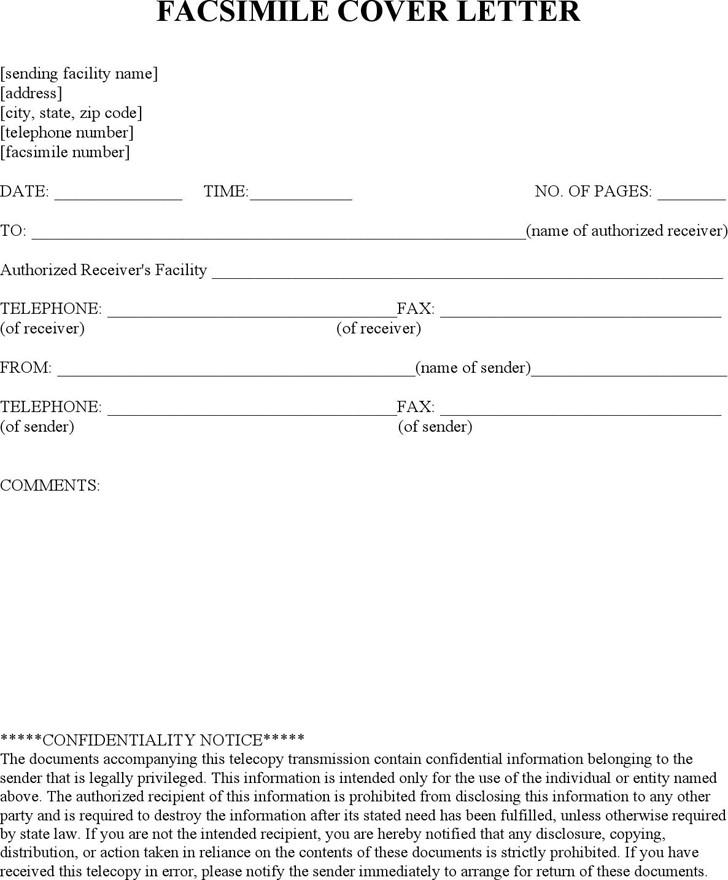 Hipaa Fax Cover Sheet Free Medical Hipaa Fax Cover Sheet Doc 24kb