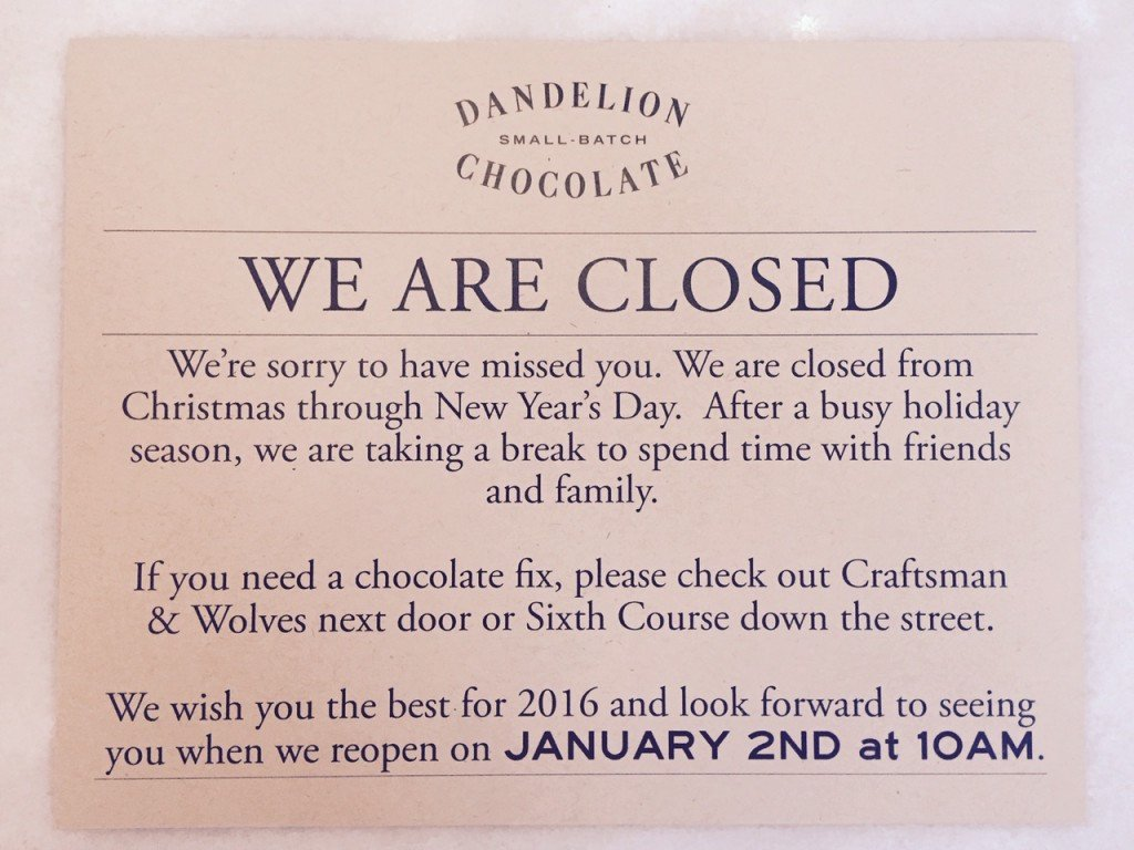 Holiday Closing Notice Template 25 Of Cafe Will Be Closed Template