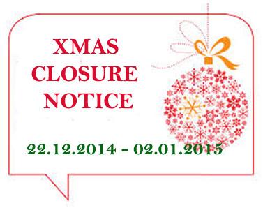 Holiday Closing Notice Template Christmas Shutdown Notice Teletek Electronics
