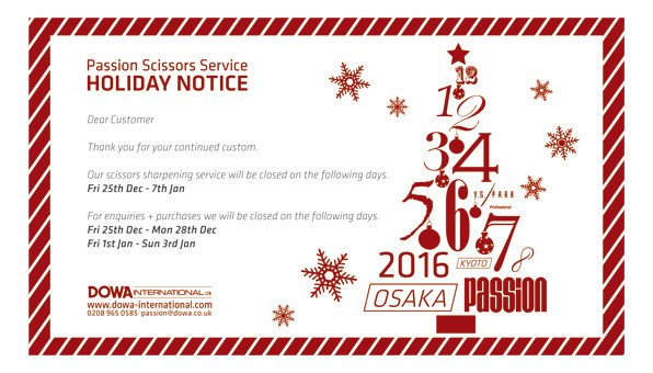Holiday Closing Notice Template Dowa International Holiday Opening Hours Notice