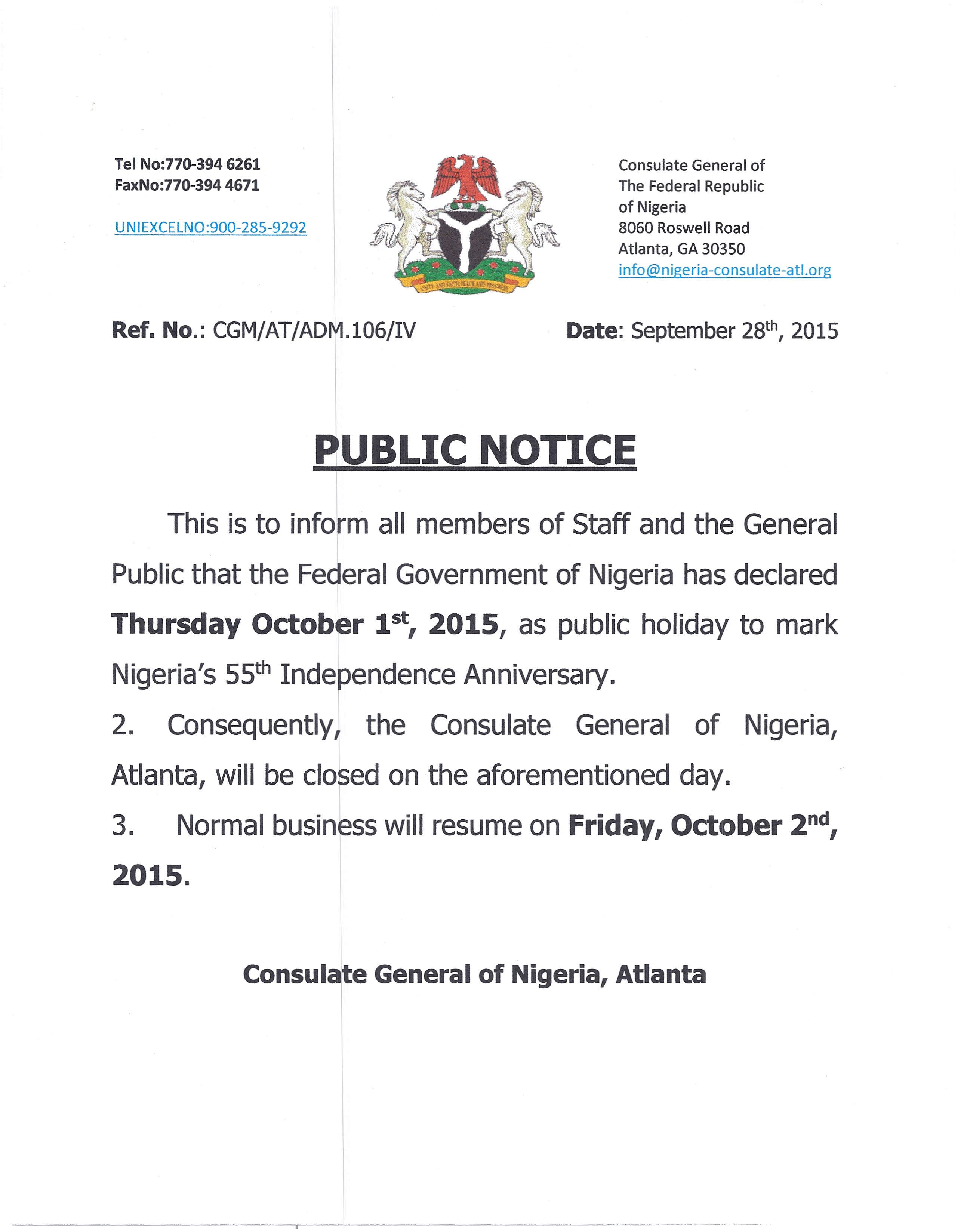 Holiday Closing Notice Template Public Holiday Fice Closure