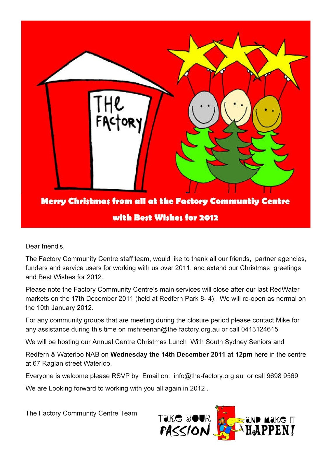 Holiday Closing Notice Template What S On the Factory Session Greetings Christmas