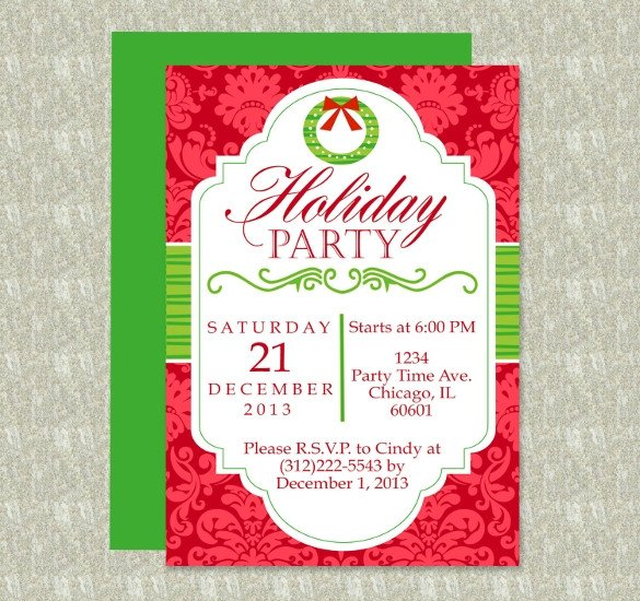 Holiday Party Flyer Template Free 20 Free Download Holiday Templates Word