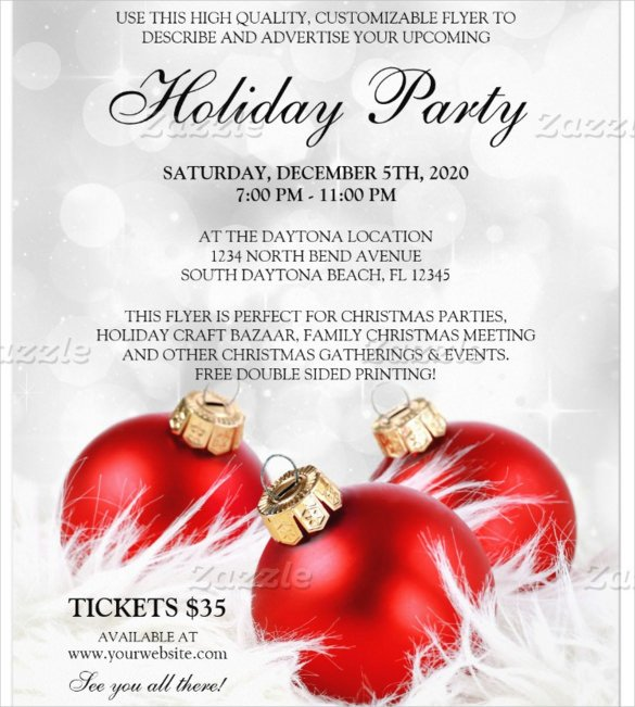 Holiday Party Flyer Template Free 57 Business Flyer Templates Psd Ai Indesign