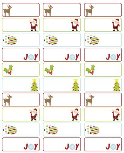 Holiday Return Address Labels Template 23 Best Images About Address Labels Free Address Label