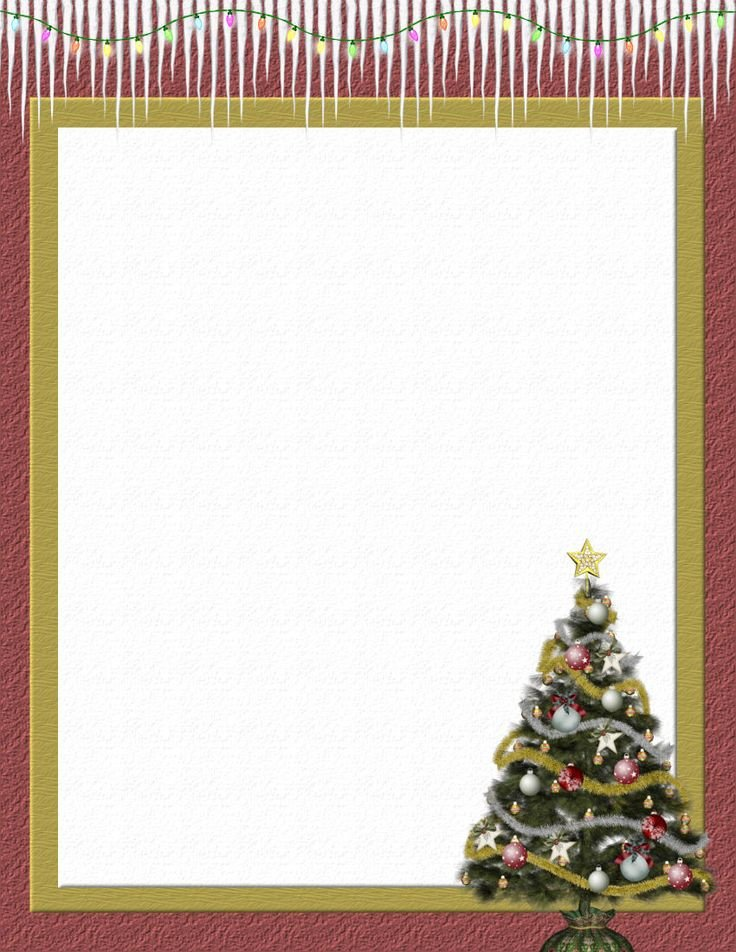 Holiday Stationary Templates Free 111 Best Christmas Stationery Images On Pinterest