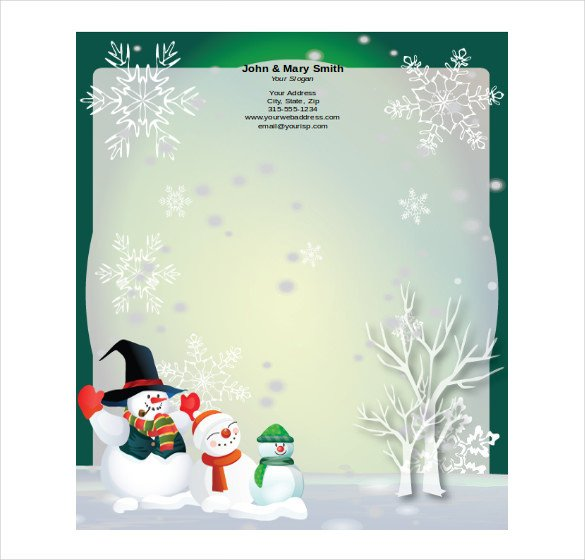 Holiday Stationary Templates Free 16 Holiday Stationery Templates Psd Vector Eps Png