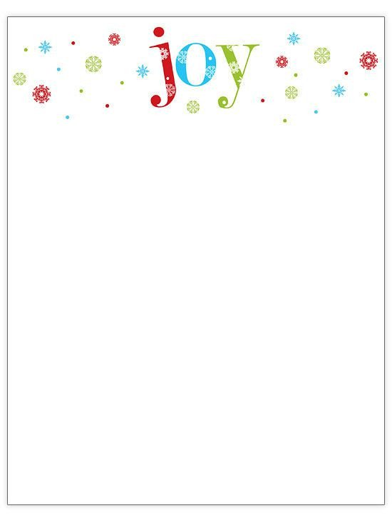 Holiday Stationary Templates Free 76 Free Christmas Stationery and Letterheads