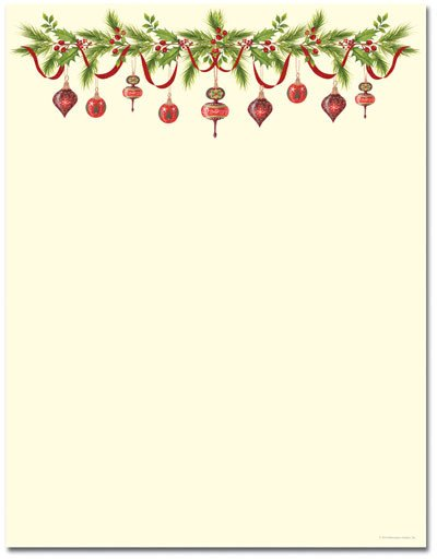 Holiday Stationary Templates Free Poinsettia Christmas Stationery and Stationery Templates