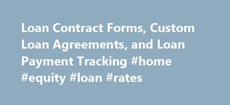 Home Equity Loan Agreement Template 25 Best Ideas About Payment Agreement On Pinterest