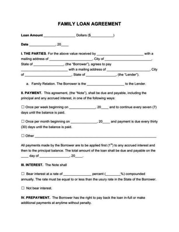 Home Equity Loan Agreement Template Loan Agreement Between Friends Template Free