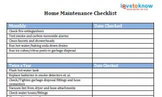 Home Maintenance Checklist Printable Printable to Do Lists to Get organized