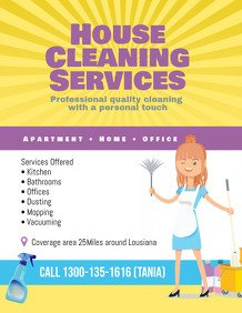 House Cleaning Flyers Templates Free 1 100 Customizable Design Templates for House Cleaning