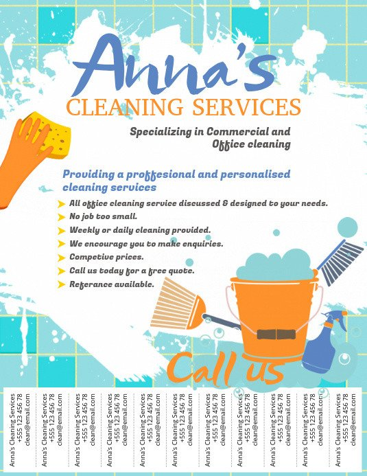 House Cleaning Flyers Templates Free Copy Of Cleaning Service Flyer Template