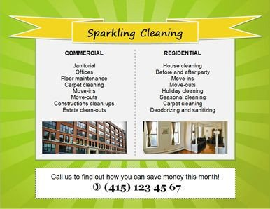 House Cleaning Flyers Templates Free Download Free House Cleaning Flyers and Ad Ideas Fully