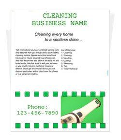 House Cleaning Flyers Templates Free Free Cleaning Flyer Templates by Cleaningflyer