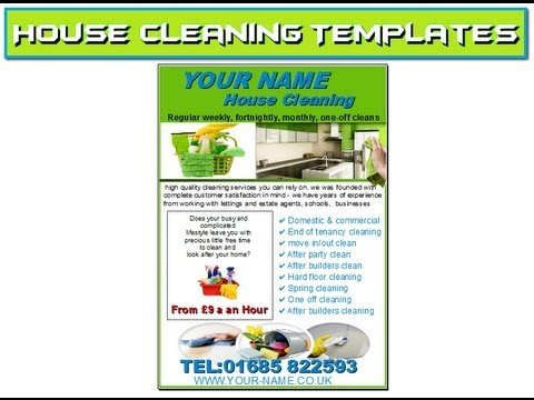 House Cleaning Flyers Templates Free House Cleaning Flyers Templates