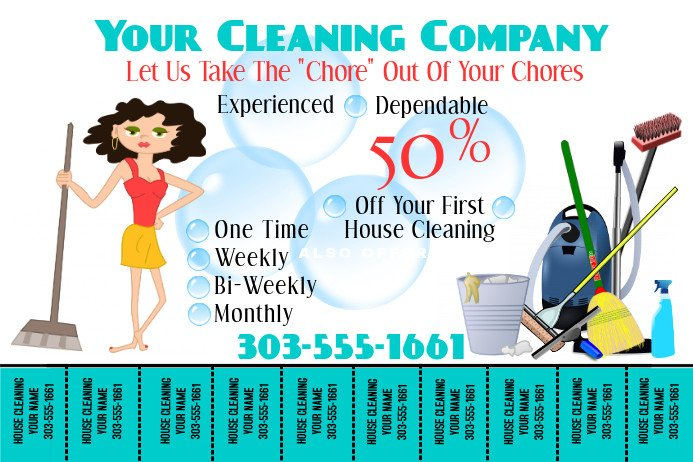 House Cleaning Flyers Templates Free Make Free Home Cleaning Flyers
