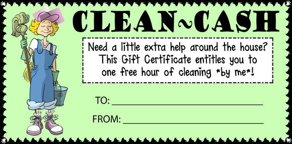 House Cleaning Gift Certificate Template House Cleaning Cash T Certificate Customize Template