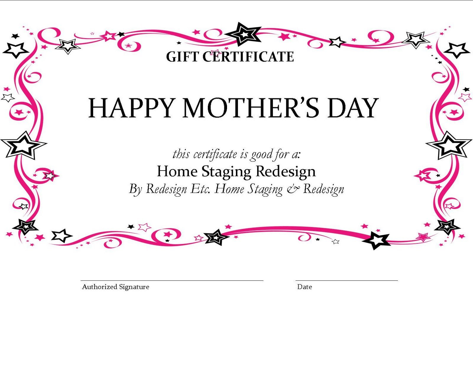 House Cleaning Gift Certificate Template House Cleaning Free House Cleaning Gift Certificate Template