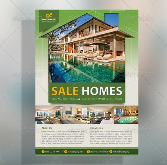 House for Sale Flyer 22 Stylish House for Sale Flyer Templates Ai Psd Docs