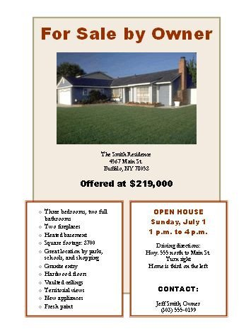 House for Sale Flyer Template 303 Best Images About for Sale by Owner Tips Fsbo Tips