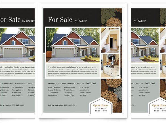 House for Sale Flyer Template 36 Real Estate Flyer Templates Psd Ai Word Indesign