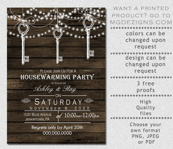 Housewarming Invitation Template Microsoft Word 28 Housewarming Invitation Templates – Free Sample