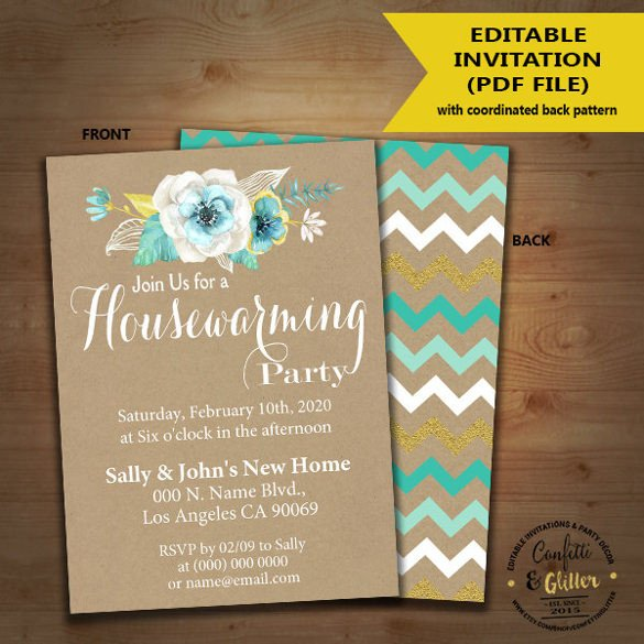 Housewarming Invitation Template Microsoft Word 35 Housewarming Invitation Templates Psd Vector Eps