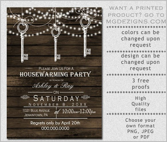 Housewarming Party Invitations Templates 35 Housewarming Invitation Templates Psd Vector Eps